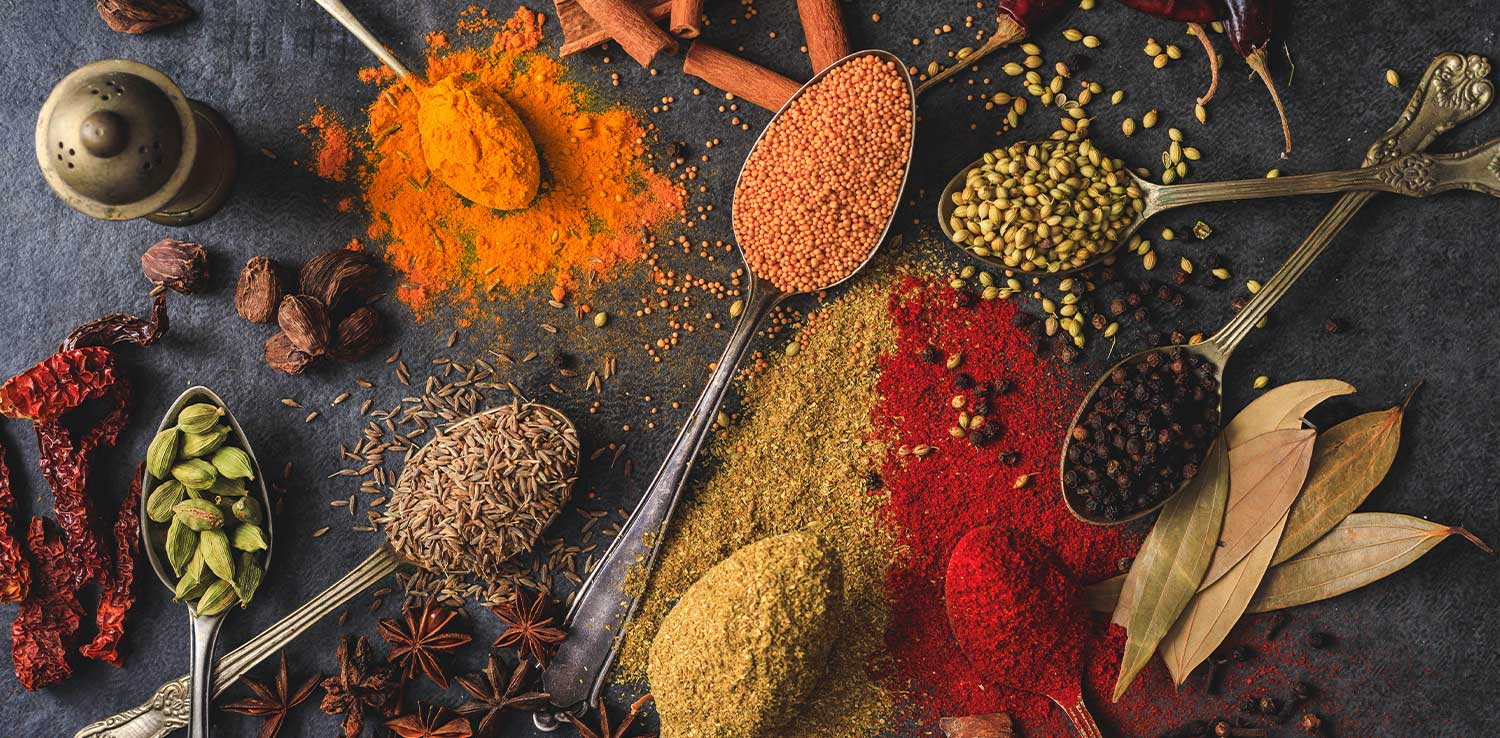 In frame: Illustration of spices | Image: Shantanu Pal from Pexels